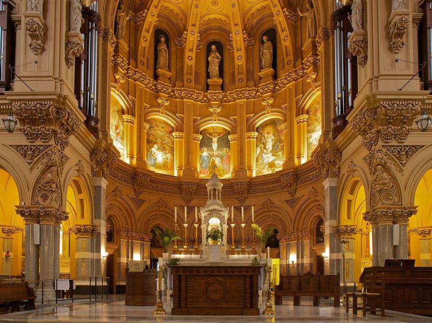 Altar da Igreja de São Francisco Xavier em Nova York