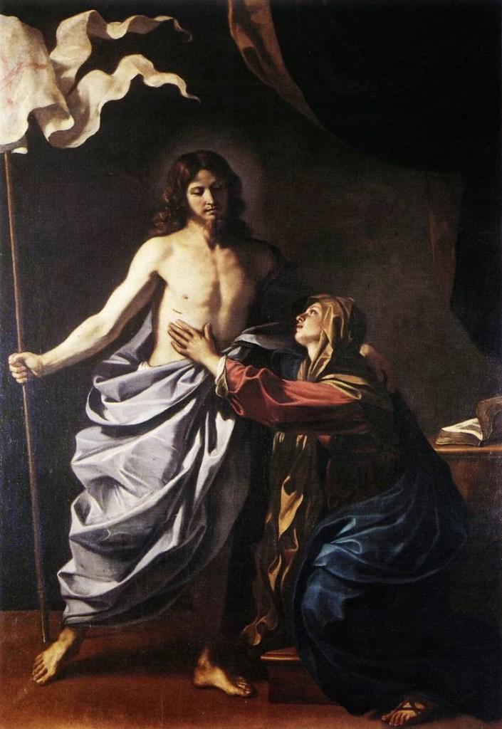 Aparaição de Jesus Cristo Ressuscitado à Maria Santíssima