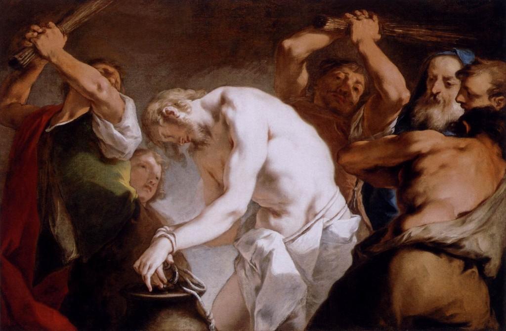 Flagelação de Jesus Cristo (Nicolo Grassi - 1720)