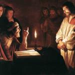 Jesus é apresentado aos pontífices e por eles condenado à morte