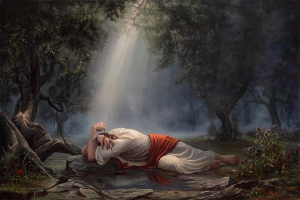 Jesus orando no horto