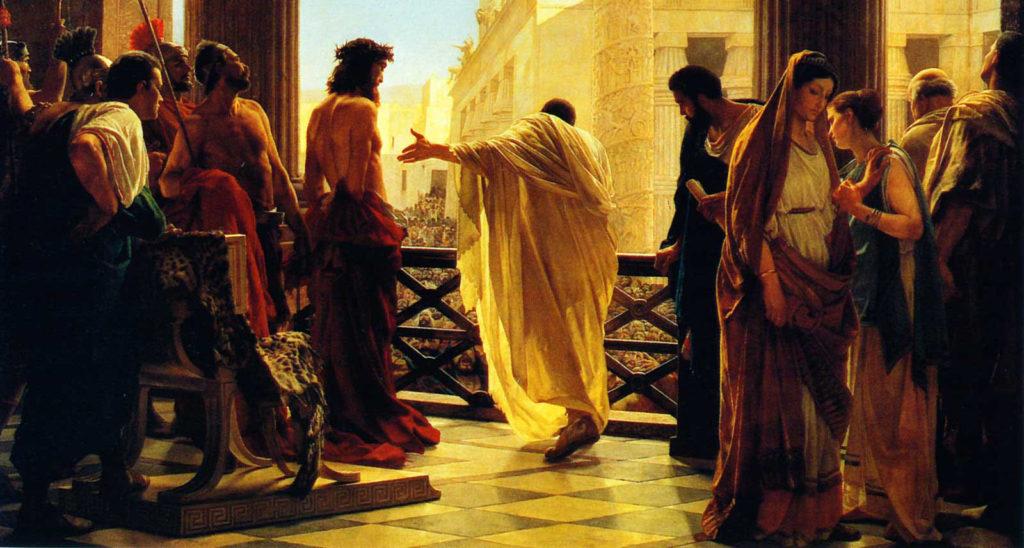 Jesus e Pilatos