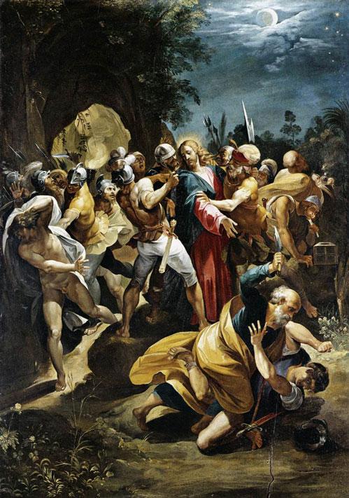 Prisão de Jesus (Cavalier d'Arpino)