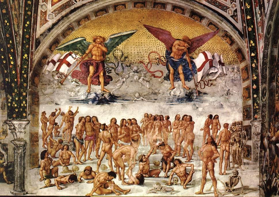 Ressurreição dos Corpos ( Luca Signorelli, 1500)