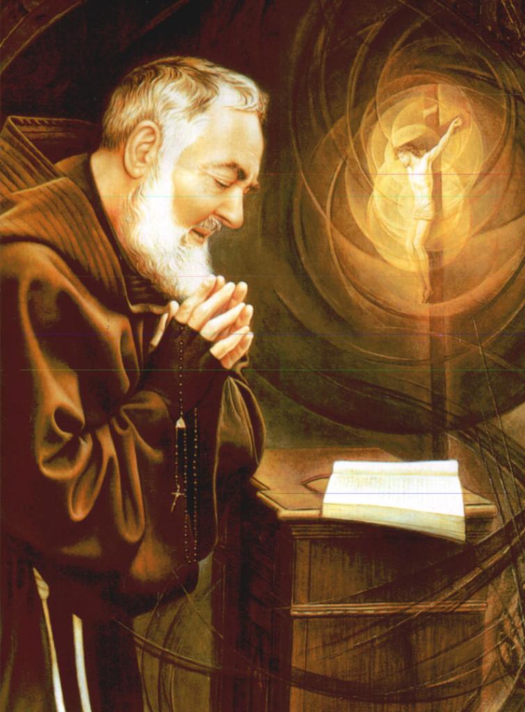 São Padre Pio de Pietrelcina, modelo e exemplo de fiel seguidor de Cristo