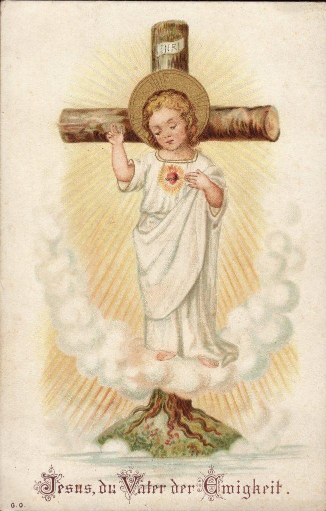 Jesus, Pai da Eternidade - Cristo Menino: árvore da vida - Sagrado Coração