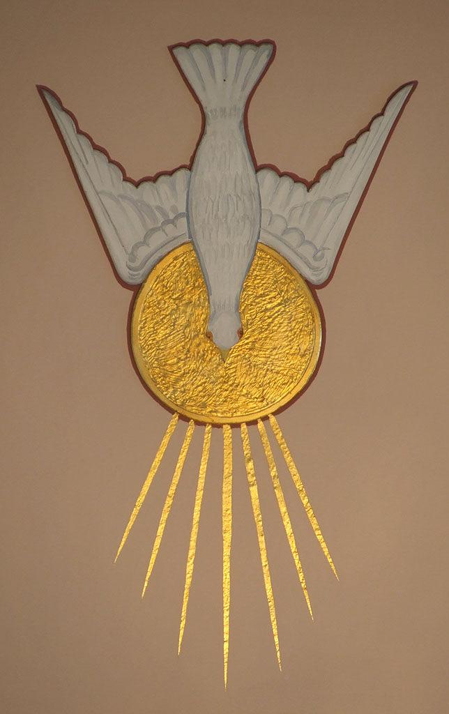 Saint James Church, in Millstadt, Illinois - Holy Spirit