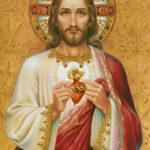 Coração aflito de Jesus