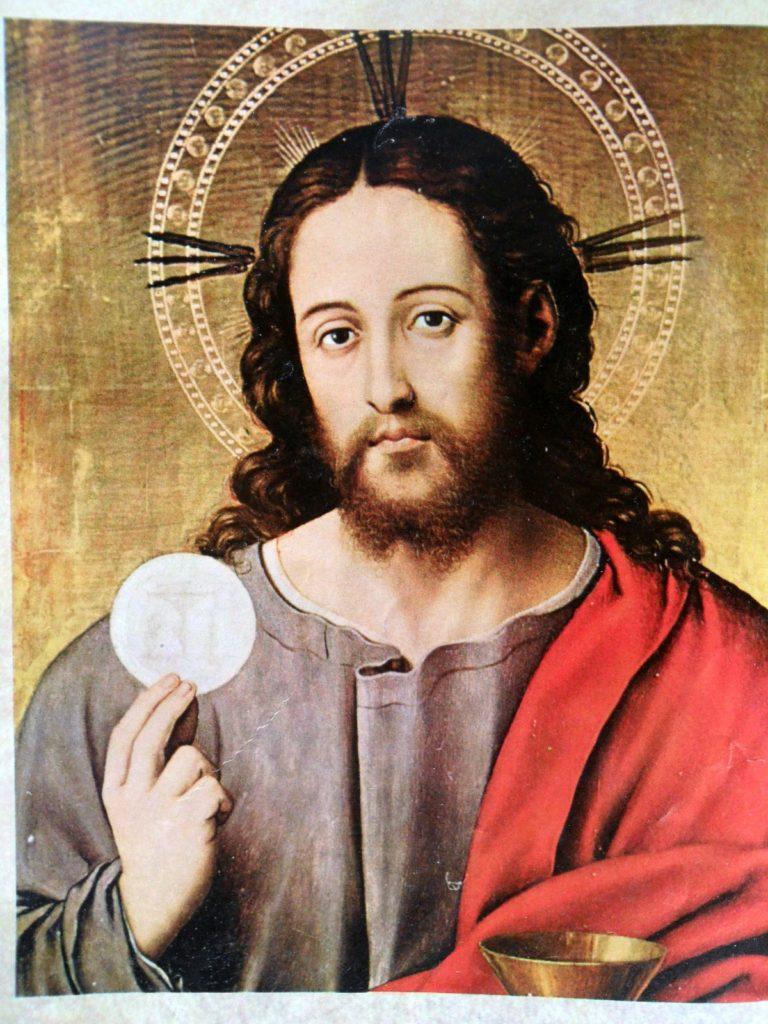 Jesus na Eucaristia