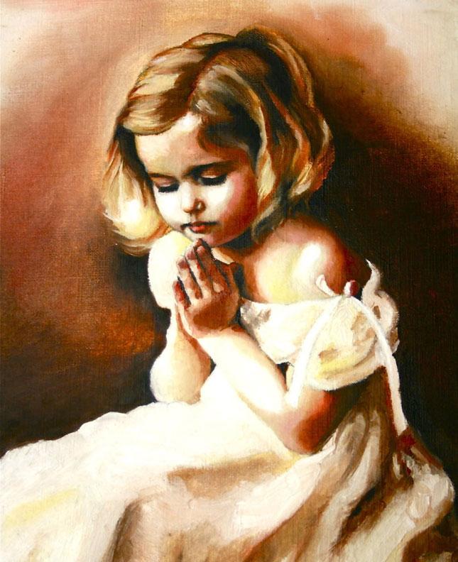 Criança Orando