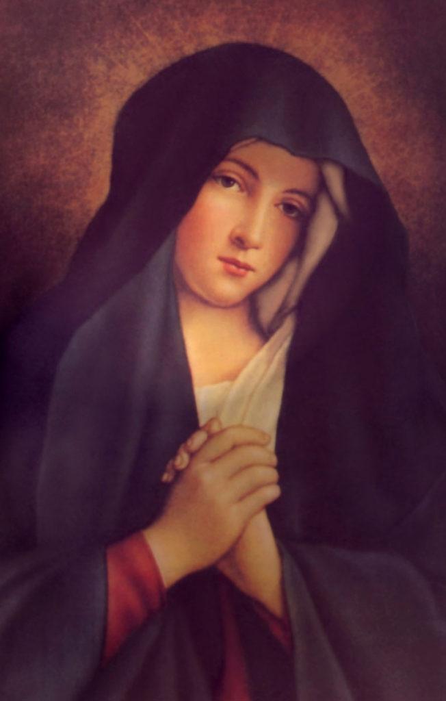 Virgem Maria, modelo de Castidade