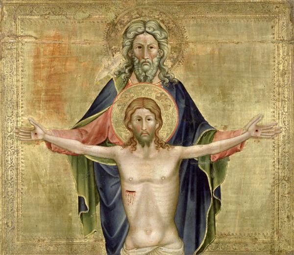 Santíssima Trindade. The Holy Trinity (Nicoletto Semitecolo)