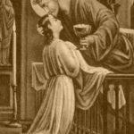 Jesus no Santíssimo Sacramento faz as delícias das almas desprendidas