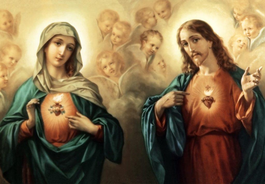 Imaculado Coração de Maria, imagem fiel do Sagrado Coração de Jesus