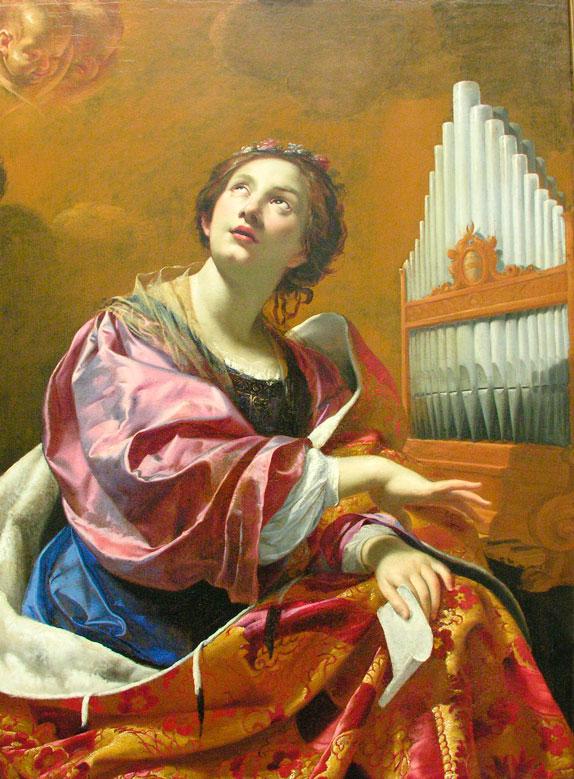 Santa Cecília, padroeira dos Músicos