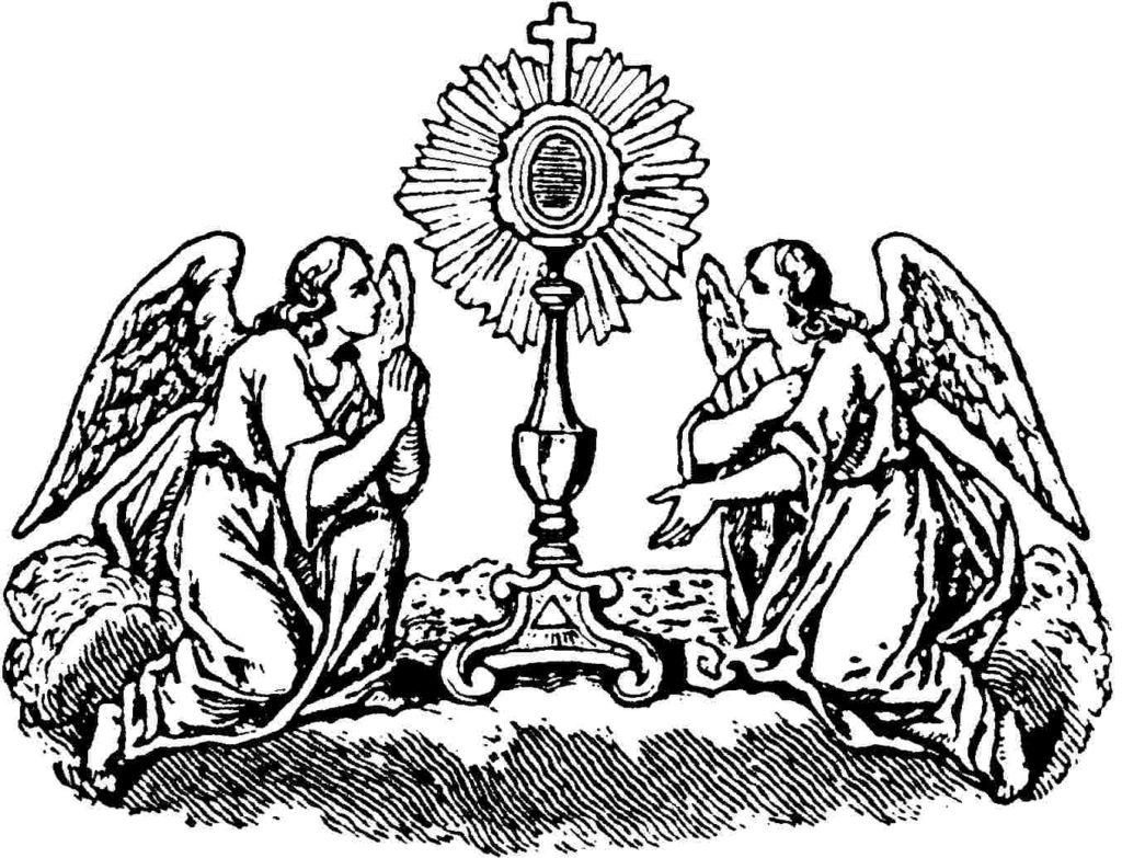 Santíssima Eucaristia, Sacramento de Amor!