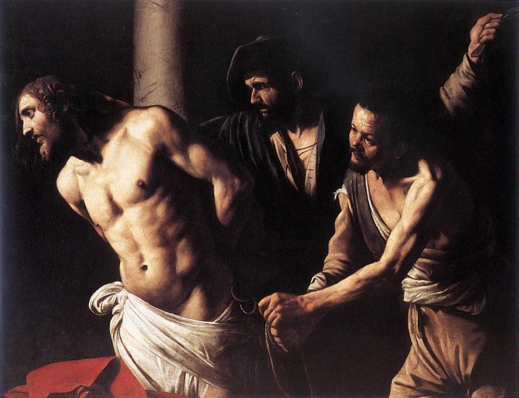 Flagelação de Cristo, por Caravaggio