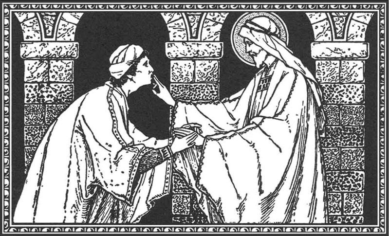 Jesus e o surdo-mudo