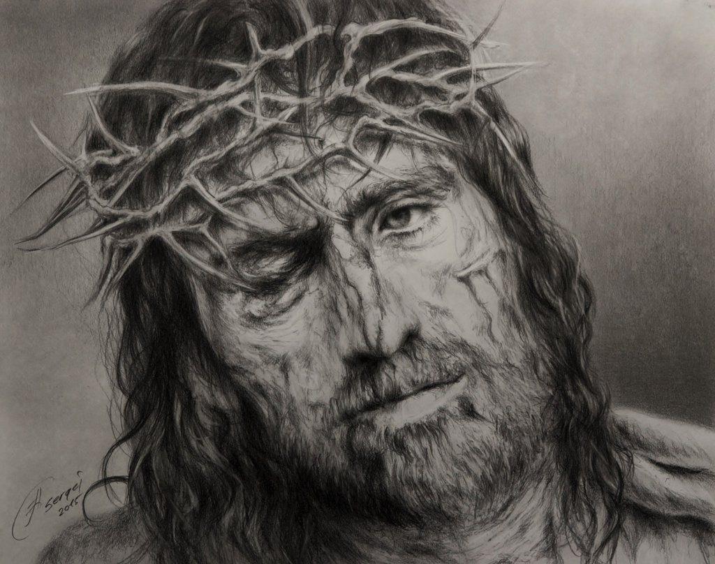 Sofrimento de Cristo (por Sergejbag, DevianArt)