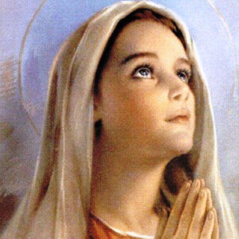 Virgem Maria, modelo de Humildade