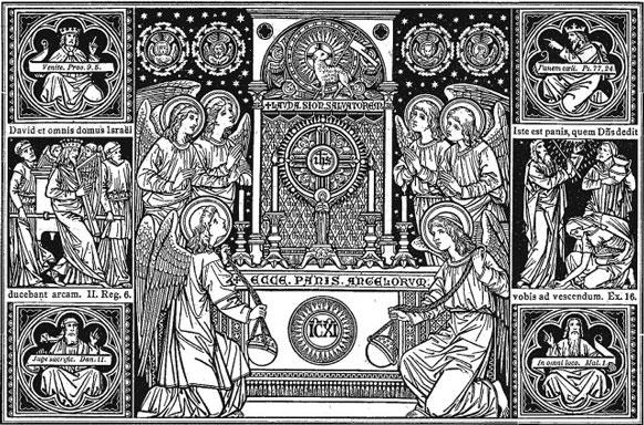 Eucaristia, Pão dos Anjos
