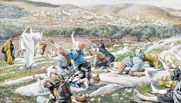 Jesus cura os dez leprosos