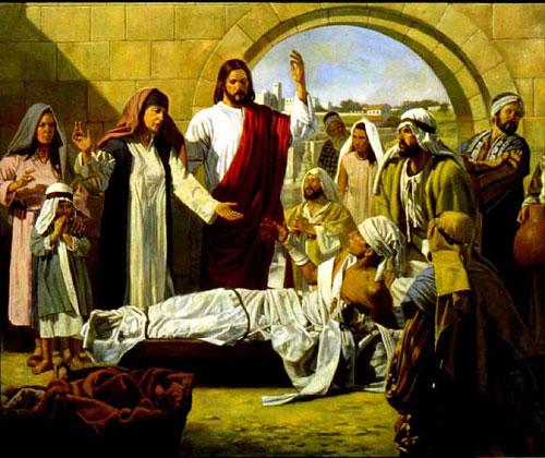 Jesus ressuscita o filho de Naim