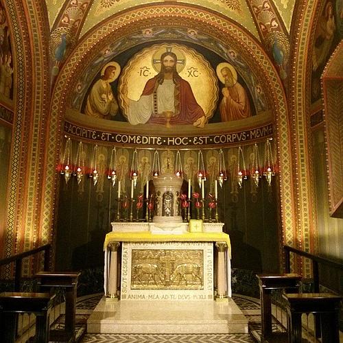 Sacrário do Mosteiro de São Bento em São Paulo