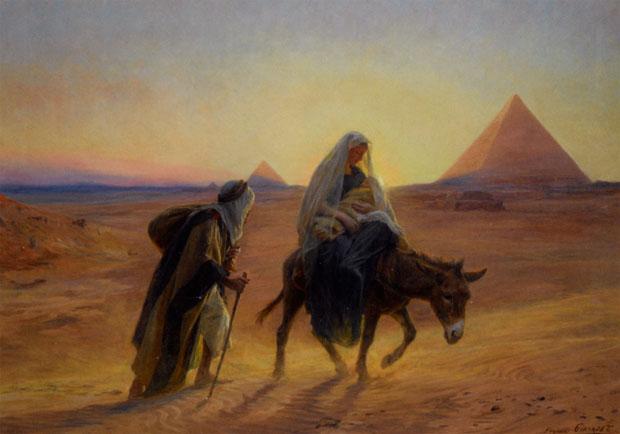 Resultado de imagem para fuga para o Egito