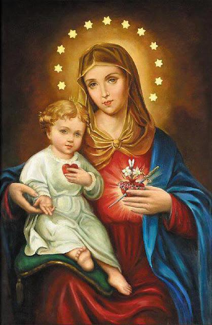 Maria, nossa doce esperança