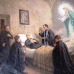 Maria Santíssima suaviza a morte dos seus devotos