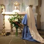 Felicidade dos religiosos em morarem junto com Jesus no Santíssimo Sacramento