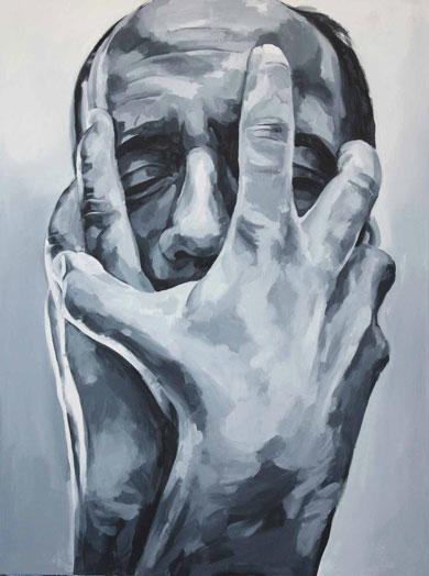 Desespero (pintura de Vitoria Duarte)