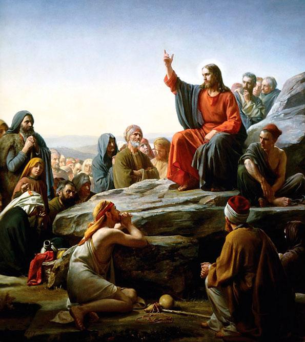 O Sermão da Montanha (Carl Heinrich)