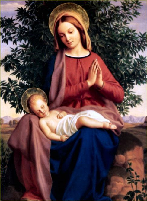 Maria, modelo de Oração