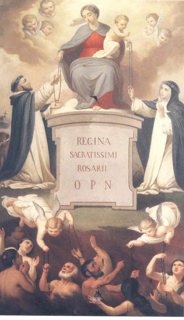 Rezemos pelas almas do Purgatório, especialmente em nossas orações pelo Santo Rosário