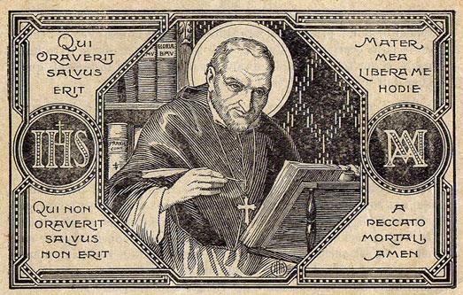 """""""Quem reza se salva, quem não reza se condena"""" (Santo Afonso)"""