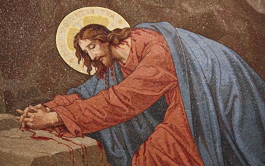 Digamos com Jesus no Getsemani: Fiat Voluntas Tua...