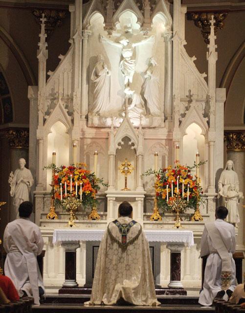 Vinde visitar a Jesus Sacramentado muitas vezes durante a semana