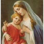 Da confiança na proteção de Maria Santíssima