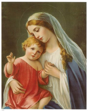 Maria nossa Mãe e Protetora