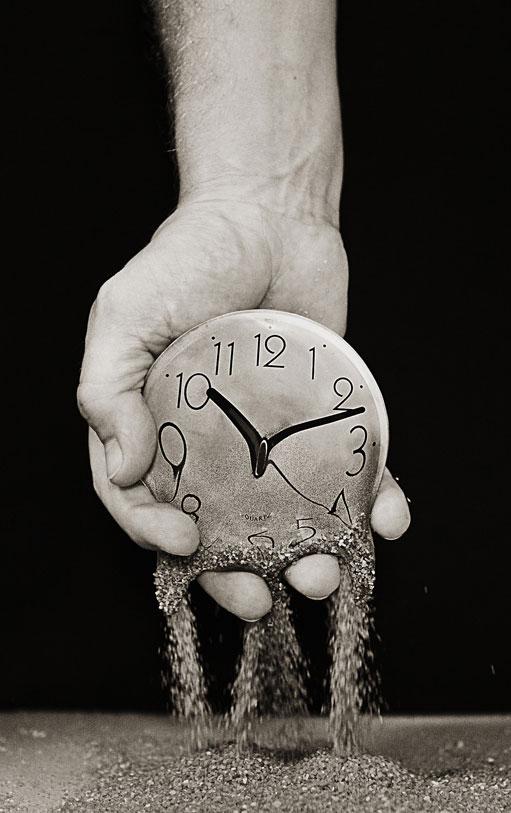 Não espere o tempo passar....