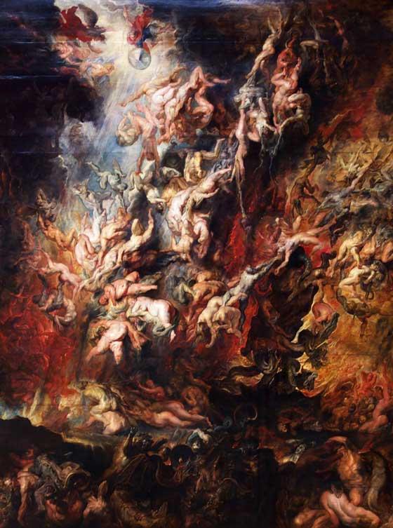 A queda do Pecador (Peter Paul Rubens, por votla de 1620)
