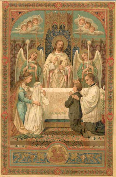 Santíssima Eucaristia, força contra todas as ciladas dos inimigos