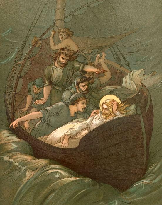 Cristo e os Discípulos na Tempestade