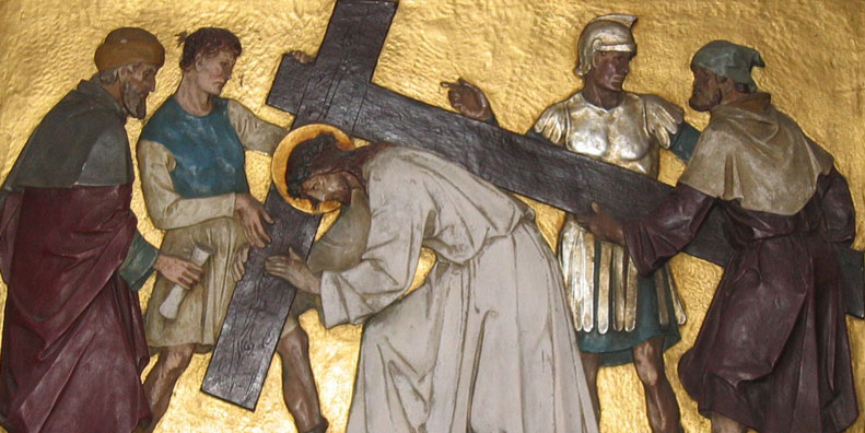 Sigamos Cristo até o calvário