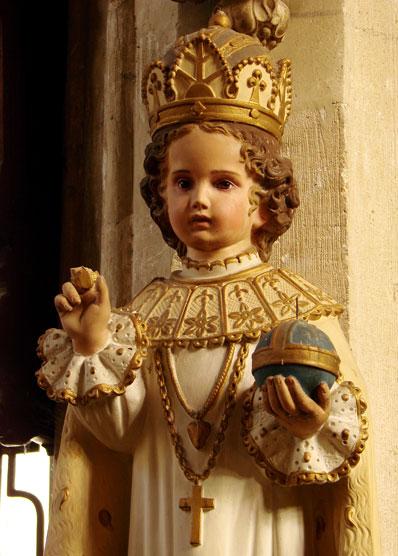 Menino Jesus, Rei do Universo
