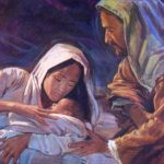 Nascimento de Nosso Senhor Jesus Cristo no presépio de Belém