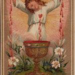 Jesus, Homem de dores desde o seio de sua Mãe