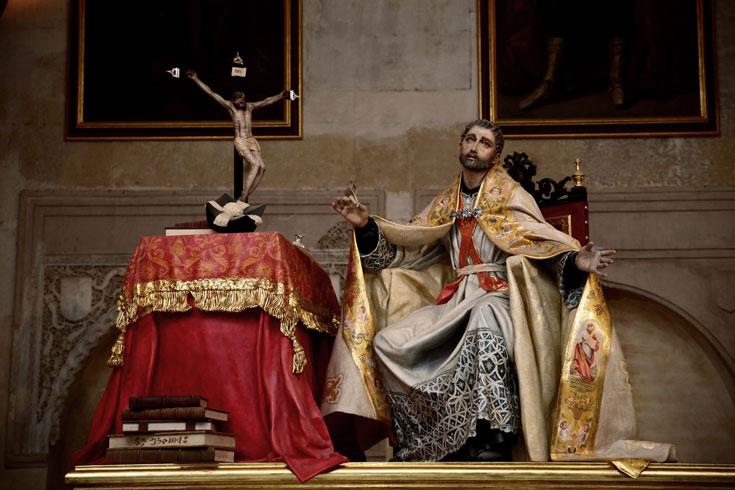 São João de Ávila e Cristo Crucificado